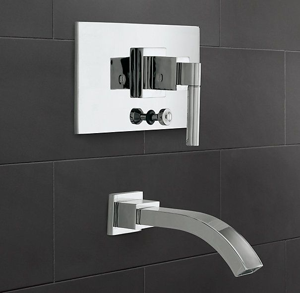 Shower Hardware By Restoration Hardware | Modern Balance Pressure Tub And  Shower Valve U0026 Trim