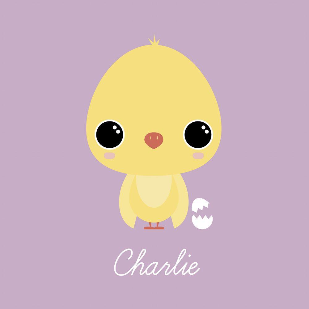 Chibi Chick - Personalised Wall Art from Yoofiti | Mady by Yoofiti ...