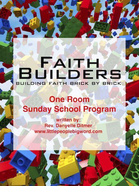 Faith Builders -- Lego Lesson Plans | Faith: Sunday School