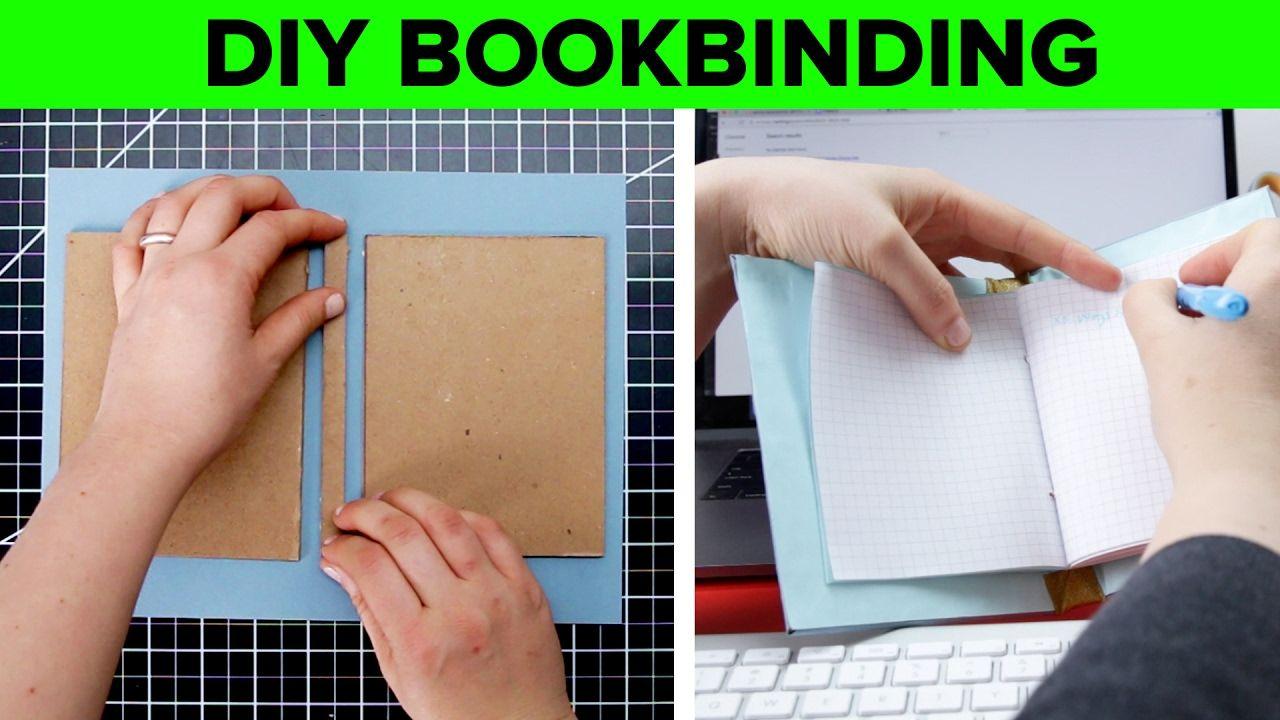 DIY Hard Cover Bookbinding Book binding diy, Diy