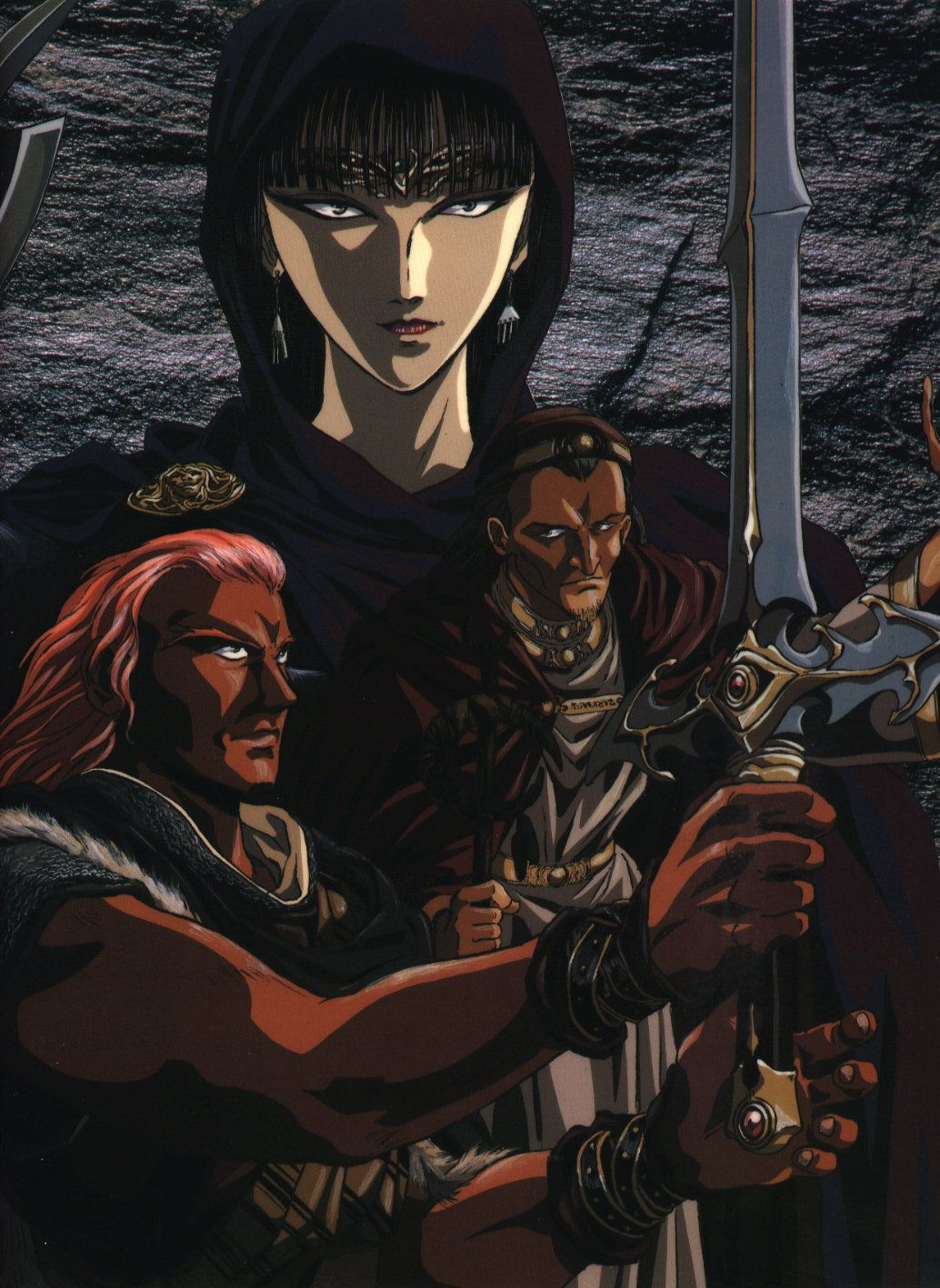Pin by justin leatherman on art record of lodoss war