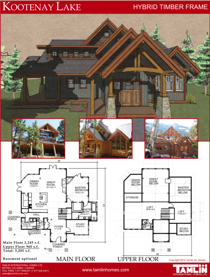 Plans Above 2500 Sq Ft Tamlin Homes Timber Frame Home Packages Prefab Homes Timber Frame Homes Timber Frame
