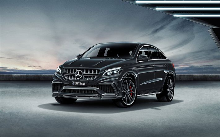 Download Wallpapers Mercedes Gle Amg Coupe 2016 Larte Design