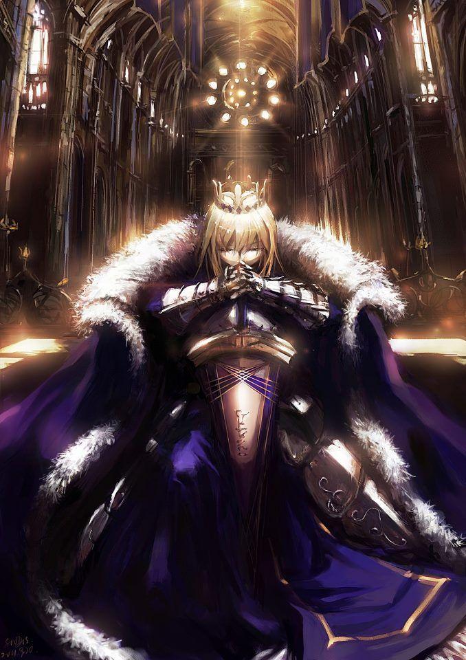 King Arthuria Fate stay night, Fate zero, Fate anime series