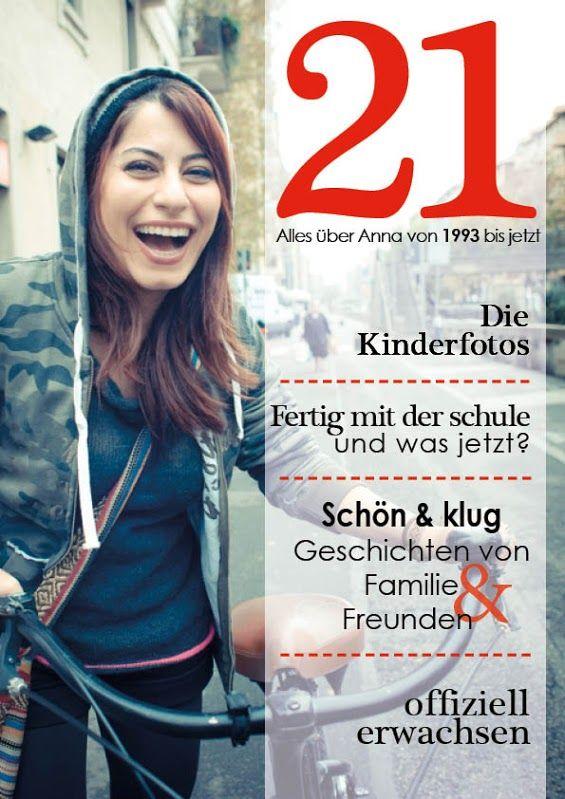 Eine Geburtstagszeitschrift zu Annas 21 Geburtstag! Hier siehts du wie es geht: www.jilster.de #zeitschrift #magazin #zeitung #zeitungmachen #geburtstag #21geburtstag #herzlichenglueckwunsch #geschenk #diy