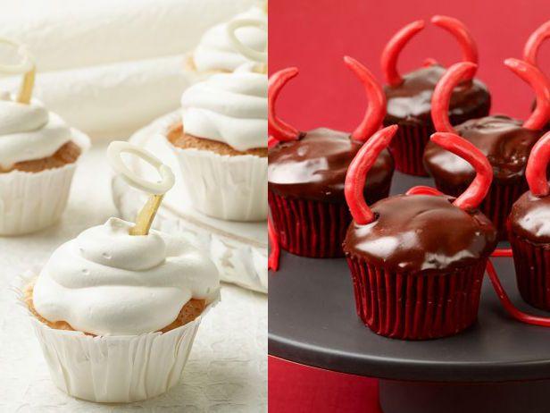 devil cupcakes halloween