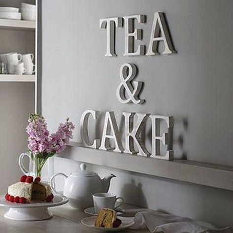 4 ideas para decorar con letras tu hogar - Letras para decorar ...