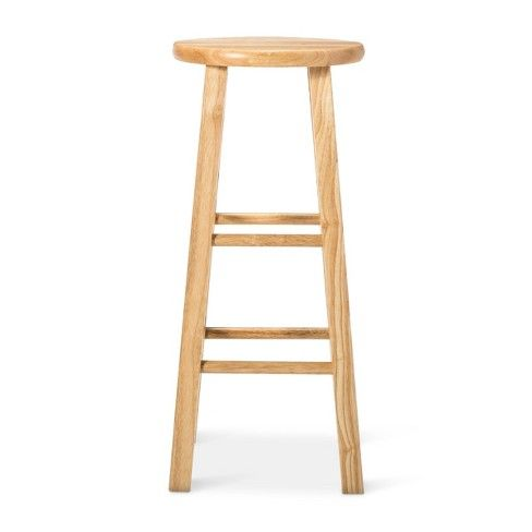 Awesome Landon Wood Seat 29 Barstool Natural Room Essentials Ibusinesslaw Wood Chair Design Ideas Ibusinesslaworg