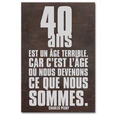 citation drole pour anniversaire 40 ans