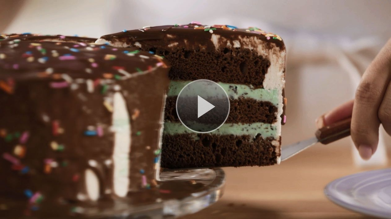 Need a birthday cake idea or a fun way to change up a cake recipe? See how to make an ice cream cake better than any store-bought version.