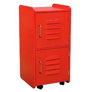 Best Medium Locker Red Bedside Table For The Playroom Girls 400 x 300