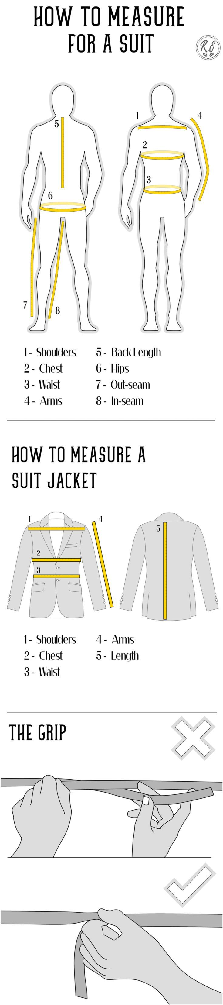 Fashion Infographic How To Measure For A Suit Infographicnow Com Your Number One Source For Daily Infographics Visual Creativity Fashion Infographic Suit Measurements Suits