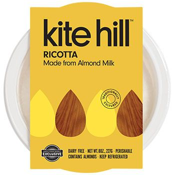 Plant Based Artisanal Cheese Kite Hill Dairy Free Products Best Vegan Cheese Almond Milk Recipes Vegan Grocery