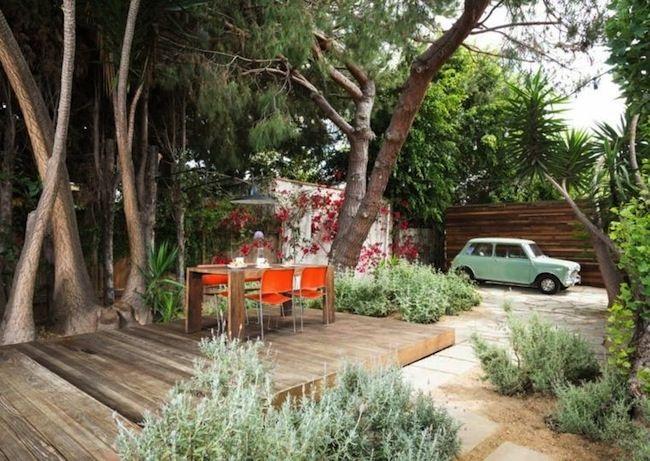 Petit jardin avec terrasse en bois | Terrasse & balcon // Terrace ...