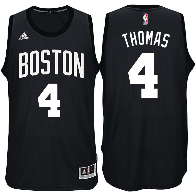 size 40 5f4c4 06944 Boston Celtics #4 Isaiah Thomas Black Fashion New Swingman ...