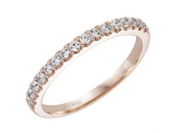 Wedding Band 1 560 00 Style 001 110 00467 14k Rg Shared G