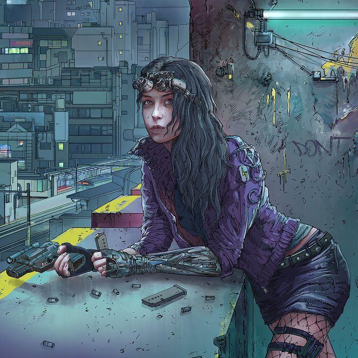 Science Fiction Cyberpunk aesthetic, Cyberpunk rpg