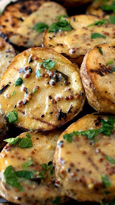 Check out grilled yellow potatoes with mustard sauce its so easy grilled yellow potatoes with mustard sauce ccuart Images
