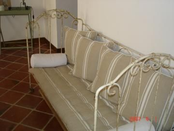 banquette fer forg blanc canap lit fer forg pinterest banquette fer forg et lit fer forg. Black Bedroom Furniture Sets. Home Design Ideas