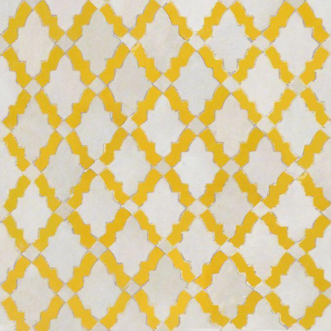 Cute 12X12 Black Ceramic Tile Small 1X1 Ceramic Tile Square 3X6 Beveled Subway Tile 3X6 White Subway Tile Bullnose Young 6 X 12 Porcelain Floor Tile Coloured9X9 Floor Tiles Golden Yellow: Mosaic House Darj 1 18 | CoastalLiving.com ..