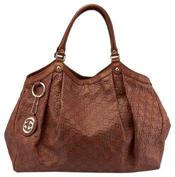 3638577c79b7 Sukey Guccissima Large Brown Leather Hobo Bag | GiGi's Classic ...