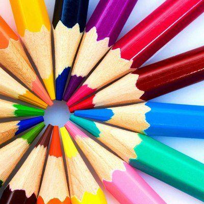Пазл онлайн: Карандаши | Книжка-раскраска, Бесплатные ...