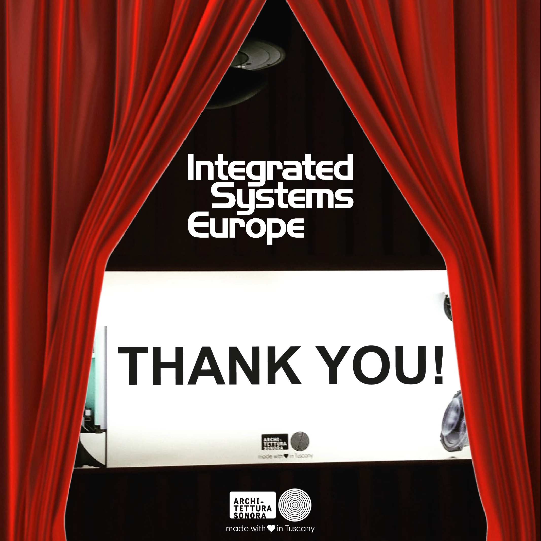 Thank you for being part of ‪#ISE2017 #ArchitetturaSonora's success! What an event! See you next year, save the date: ‪#ISE2018 > 6-9 February 2018