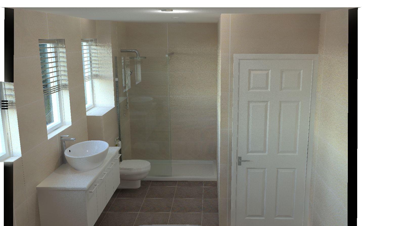 Lovely modern bathroom design | Our ArtiCad Designs | Pinterest ...