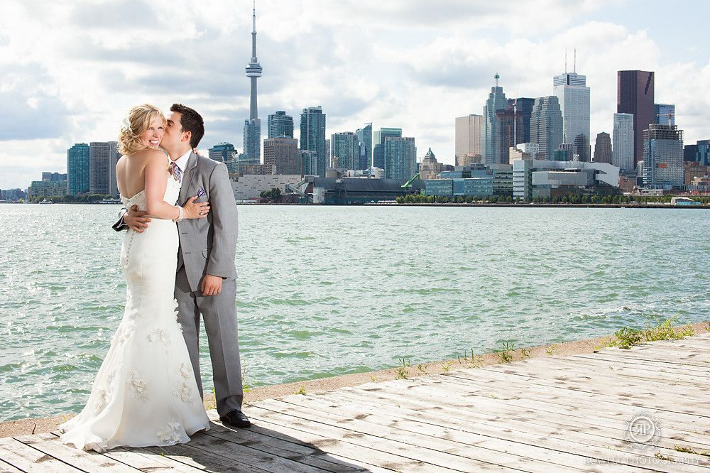 **RECREATE**toronto lakeshore wedding photo @ the polson pier!