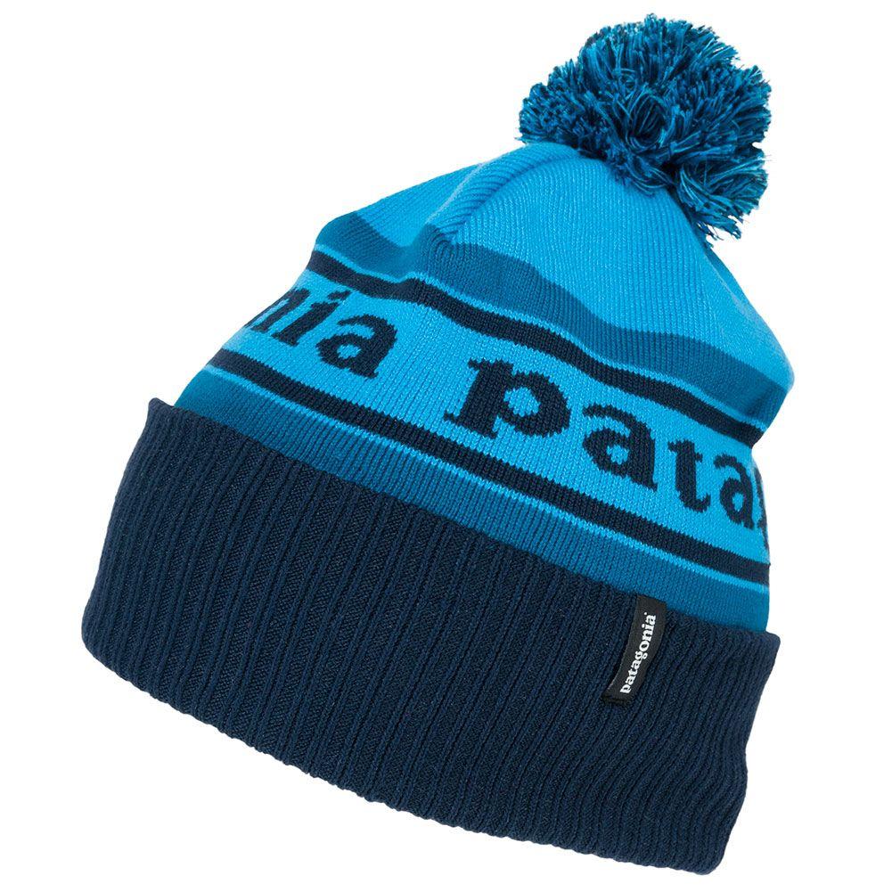 Patagonia Powder Town Beanie Blue At Skate Pharm Beanie