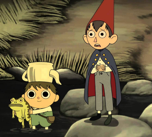 The symbolism of Greg & Wirt's costume in over the garden