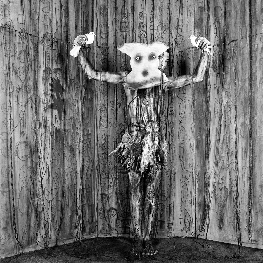 Roger Ballen unveils the thought process behind his gritty brand of photography, and what makes it art.