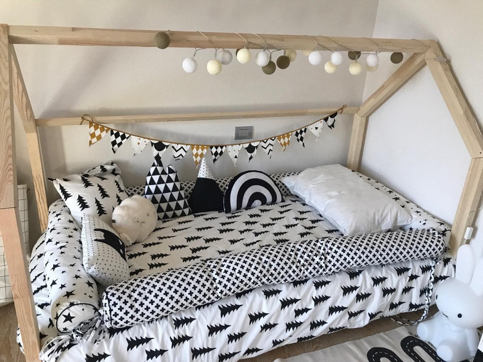Montessori Floor bed bolster pillow