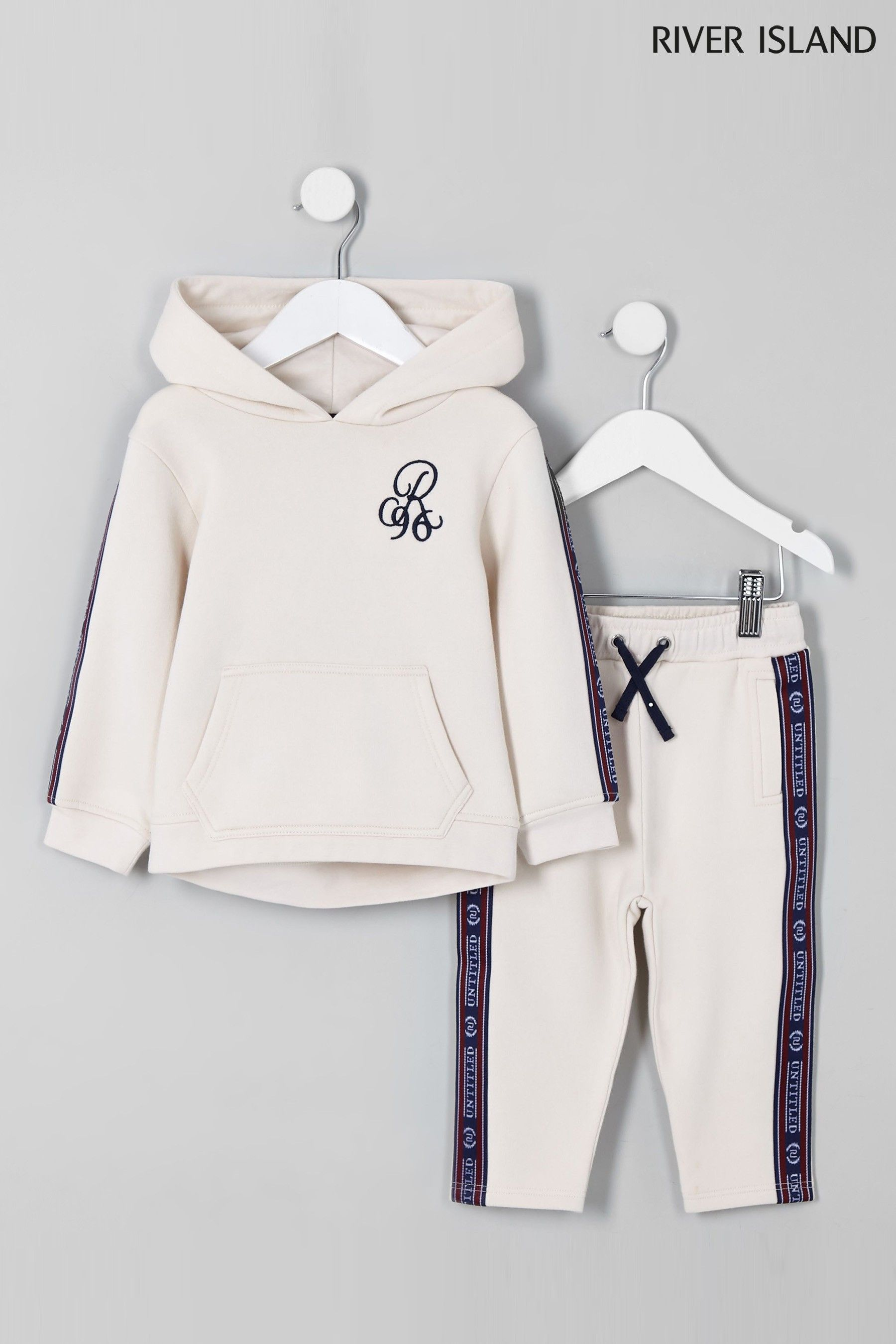 best choice exclusive shoes buy Boys River Island Over Head Hoody And Jogger Tracksuit ...