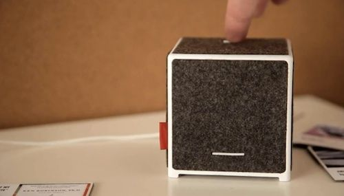 A Printer That Lets You Physically-Share Videos, Music, Websites #technology
