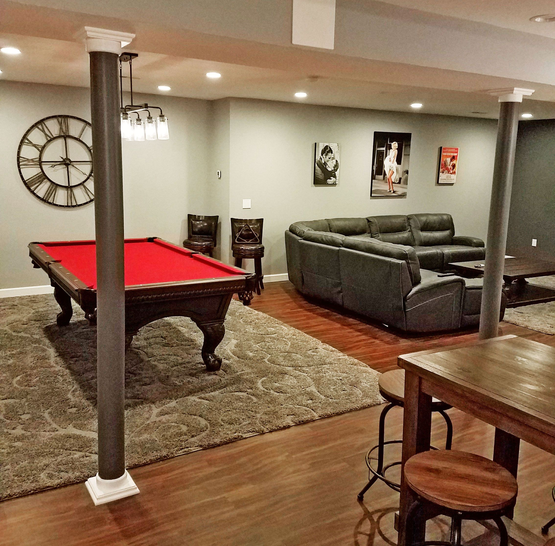 Image of: Basement Pole Cover Ideas Pole Wrap Beautifully Accents Your Basement Poles Not Only Easy To Install But You Can Paint 1000 Ideas About Basement Pole Covers On Basements Basement Poles Finishing