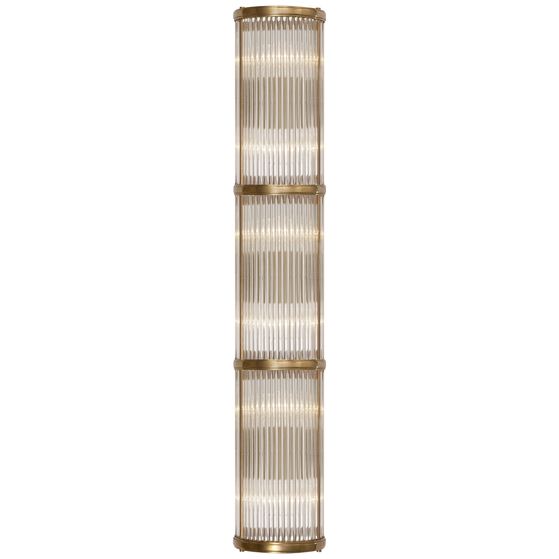 Allen Large Linear Sconce In 2020 Sconces Art Deco Lighting Visual Comfort