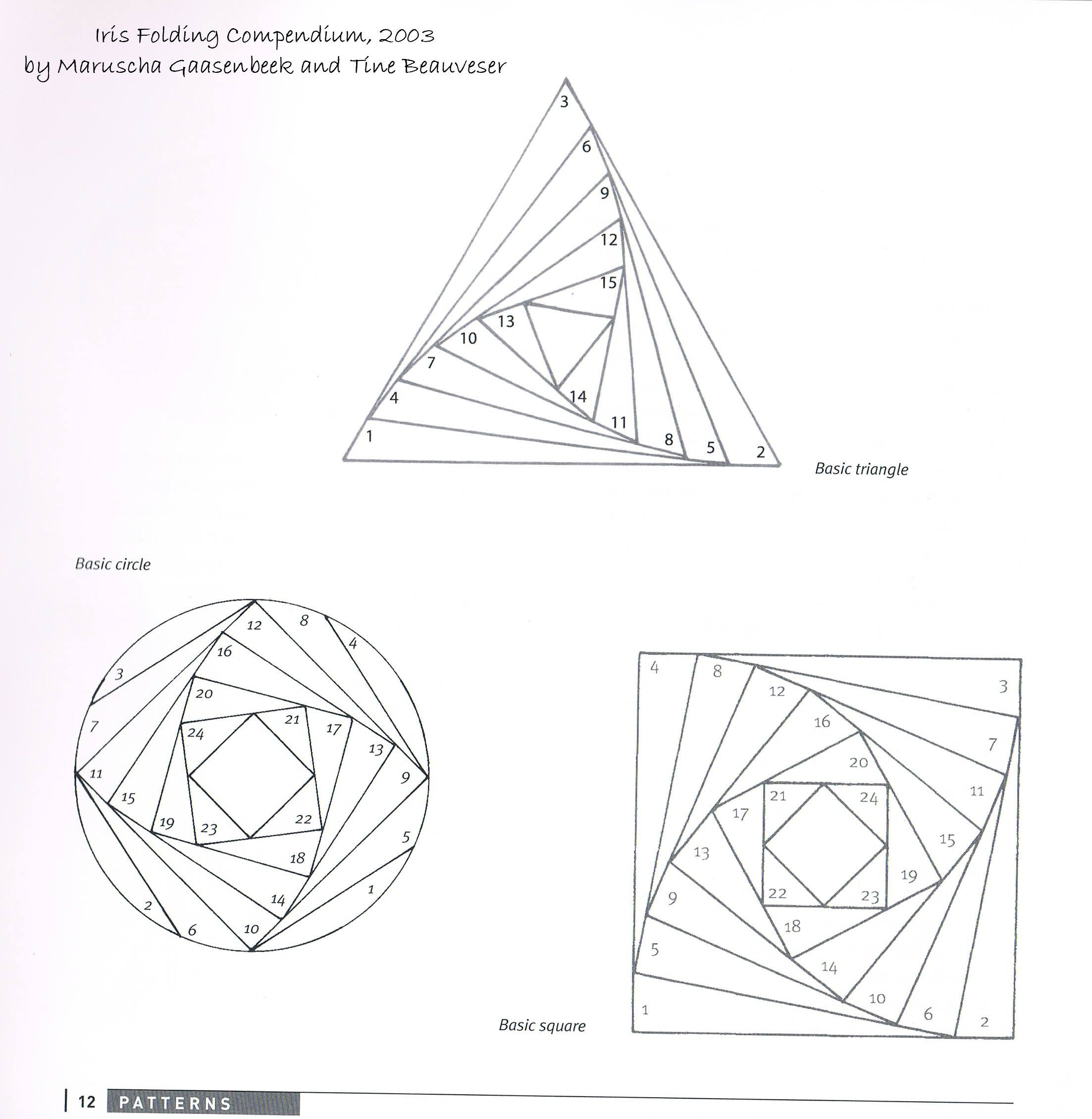 Step By Step Instructions How To Make Origami An Iris. Stock ... | 2259x2205