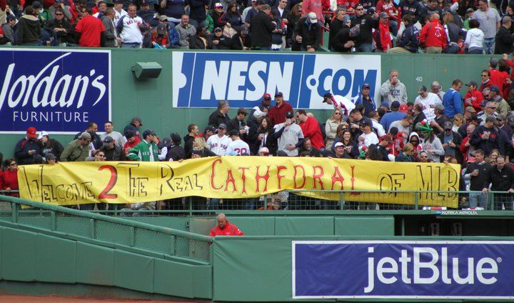Welcome 2 The Real Cathedral of MLB - At Fenway