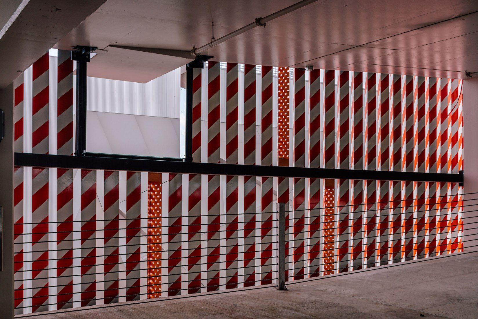 Inside View Barricades By K R Miami Museum Garage Photograph By Miguel De Guzman Imagen Subliminal Architect Exterior Design Miami Design
