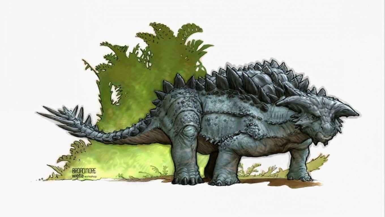 Atercurisaurus Skull Island Ankylosau...