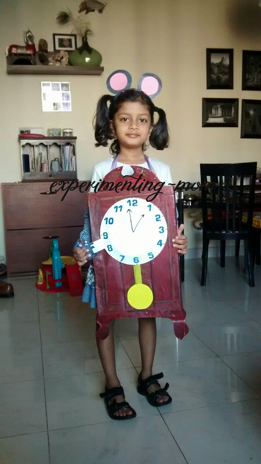 Hickory dickory dock costume | Art Play Explore | Fancy dress ...