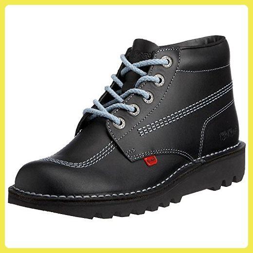 Kickers Kick Hi B Damen Stiefel Schwarz Blau Core Size 38 EU - Stiefel für  frauen