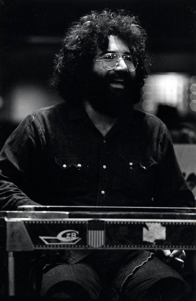 Jerry Garcia by Robert Altman