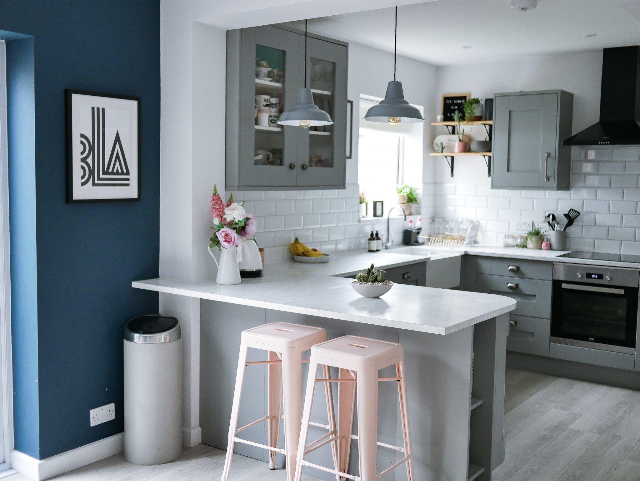 Best Our Kitchen Dining Room Renovation Grey Kitchen Walls 640 x 480
