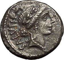Roman Republic 49BC Physician Doctor of Rome Salus Ancient Silver Coin i52658 #ancientcoins https://ancientcoinsaustralia.wordpress.com/2015/10/30/roman-republic-49bc-physician-doctor-of-rome-salus-ancient-silver-coin-i52658-ancientcoins/