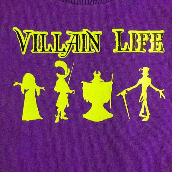 ADULT Fully Customizable Villain Life Disney by NMCoDesigns