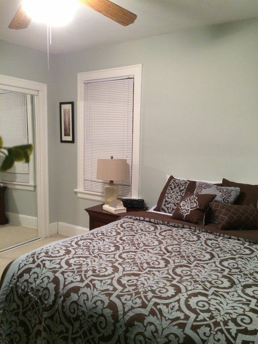 For Downstairs Guest Bedroom Paint Color Sw 7057 Silver Strand From Sherwin Williams