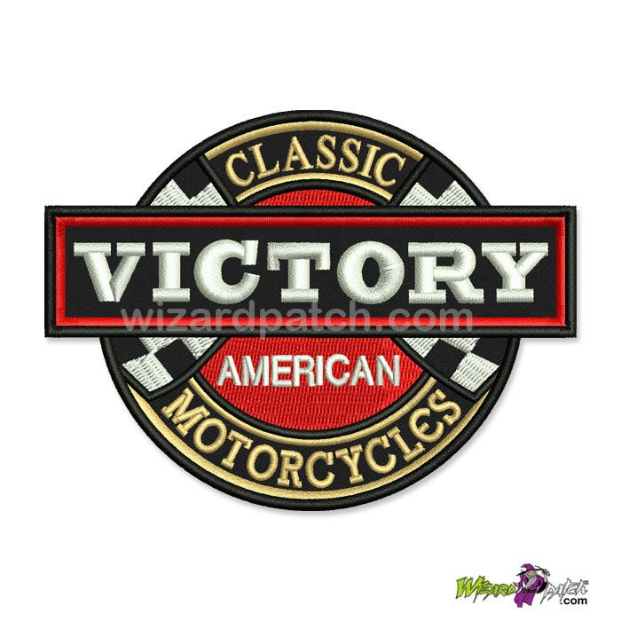 New Victory Motorcycles Wizardpatch Victory Motorcycles