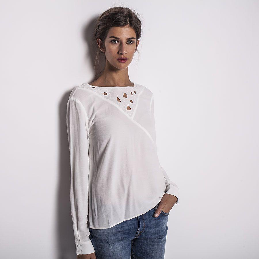 Blouse pour femme IKKS (BG13505) | Vêtement Femme Hiver 15